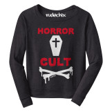 Horror Cult Terry Raw Edge LS