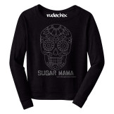 Sugar Mama Raw Edge Long Sleeve